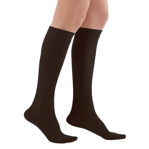 WOLLEX 858 Dizaltı Burnu Kapalı CCL 1 Siyah Varis Çorabı