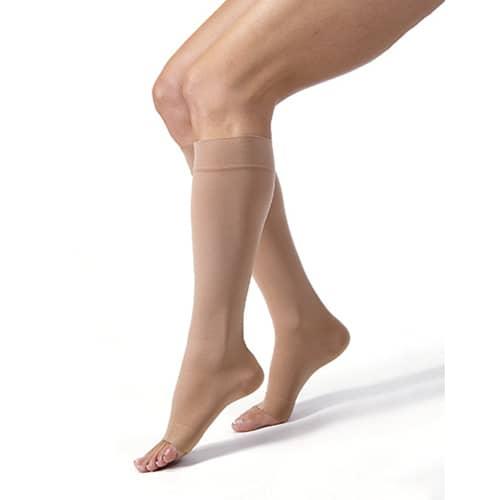 WOLLEX 851 Dizaltı Burnu Açık CCL 1 Bej Varis Çorabı