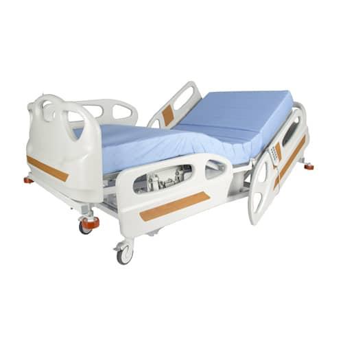 WOLLEX W329 4 Motorlu ABS Başlıklı Hasta Karyolası(Kısa Korkuluklu)