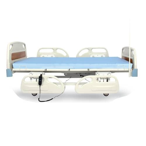 WOLLEX W305 Üç Motorlu ABS Başlıklı Hasta Karyolası(Kısa Korkuluklu)