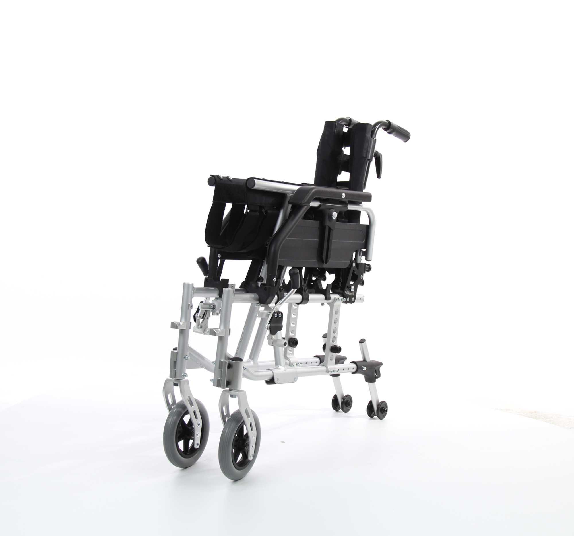 WOLLEX WG-M735 Aluminyum Manuel Tekerlekli Sandalye