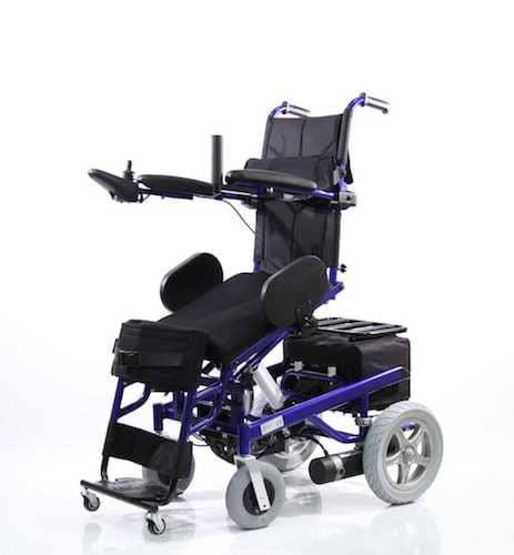 WOLLEX W-129 Akülü Tekerlekli Sandalye