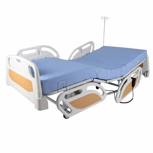 WOLLEX W325 2 Motorlu ABS Başlıklı Hasta Karyolası