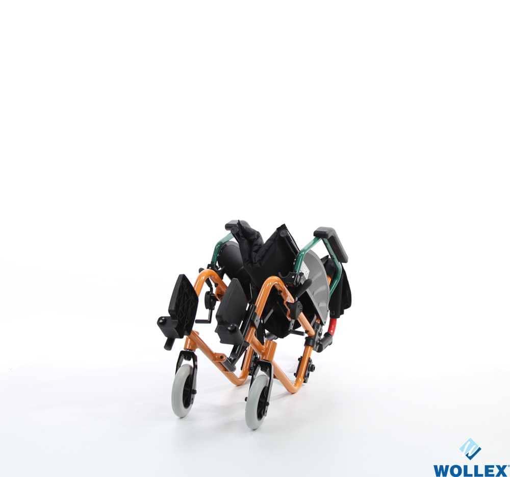 WOLLEX W980 Çocuk Aliminyum Tekerlekli Sandalye