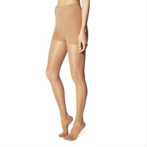 WOLLEX 813 Külotlu Burnu Kapalı CCL 2 Bej Varis Çorapları