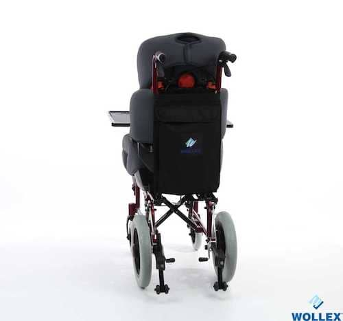 WOLLEX W258 Çocuk Aluminyum Tekerlekli Sandalye
