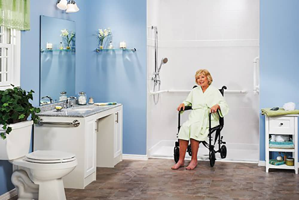 True Rehab Shower Commode Chairs