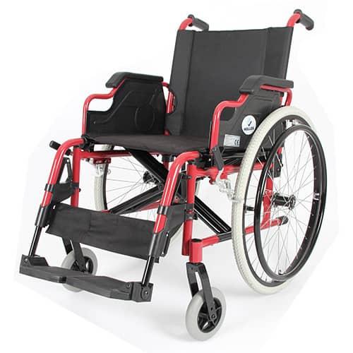 WOLLEX W903 Aluminyum Tekerlekli Sandalye