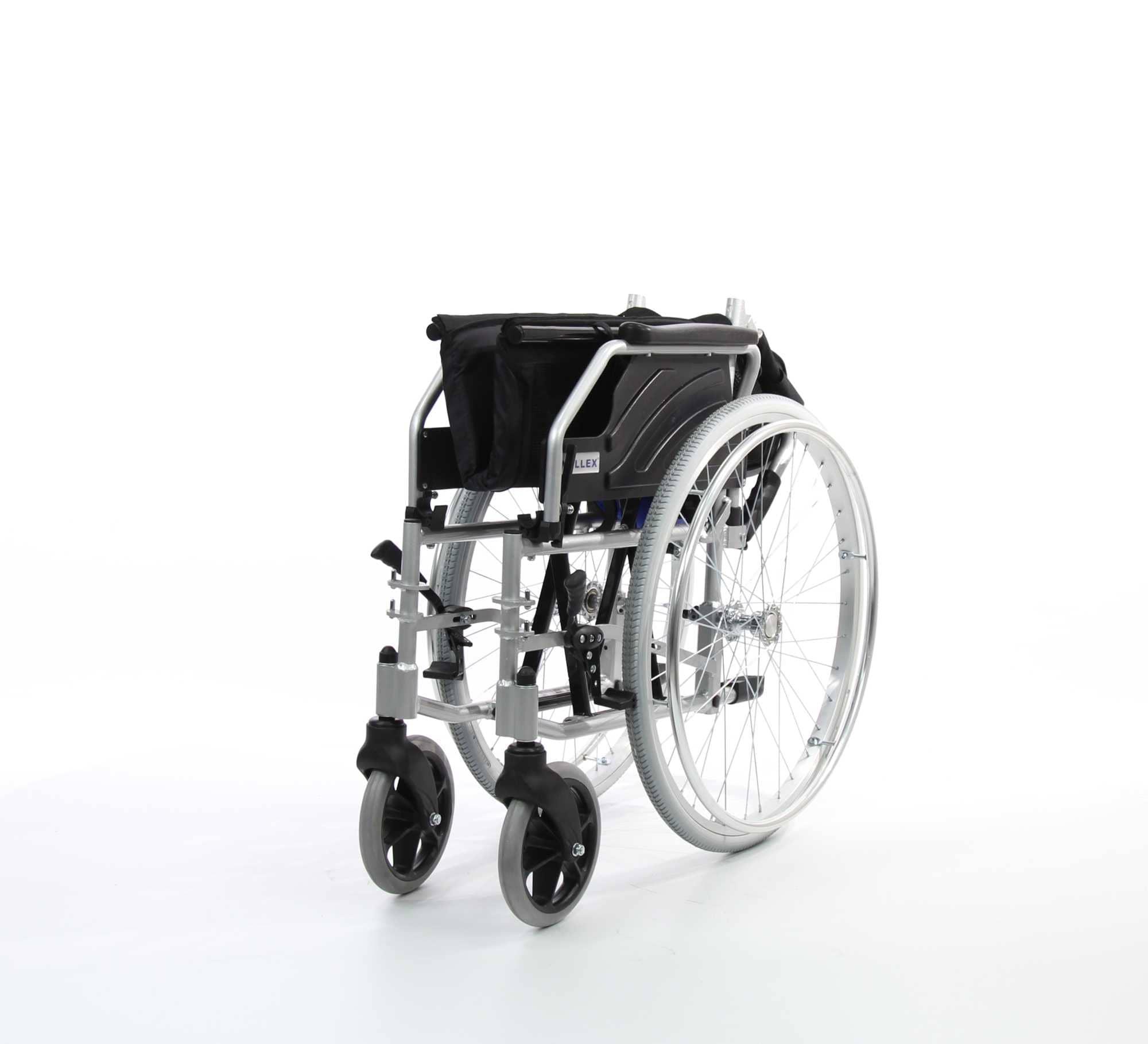 WOLLEX W217 Aluminyum Hafif Manuel Tekerlekli Sandalye