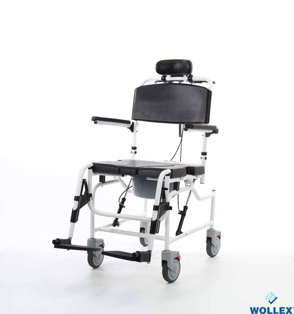 WOLLEX WG-M698 Tekerlekli Banyo ve Tuvalet Sandalyesi