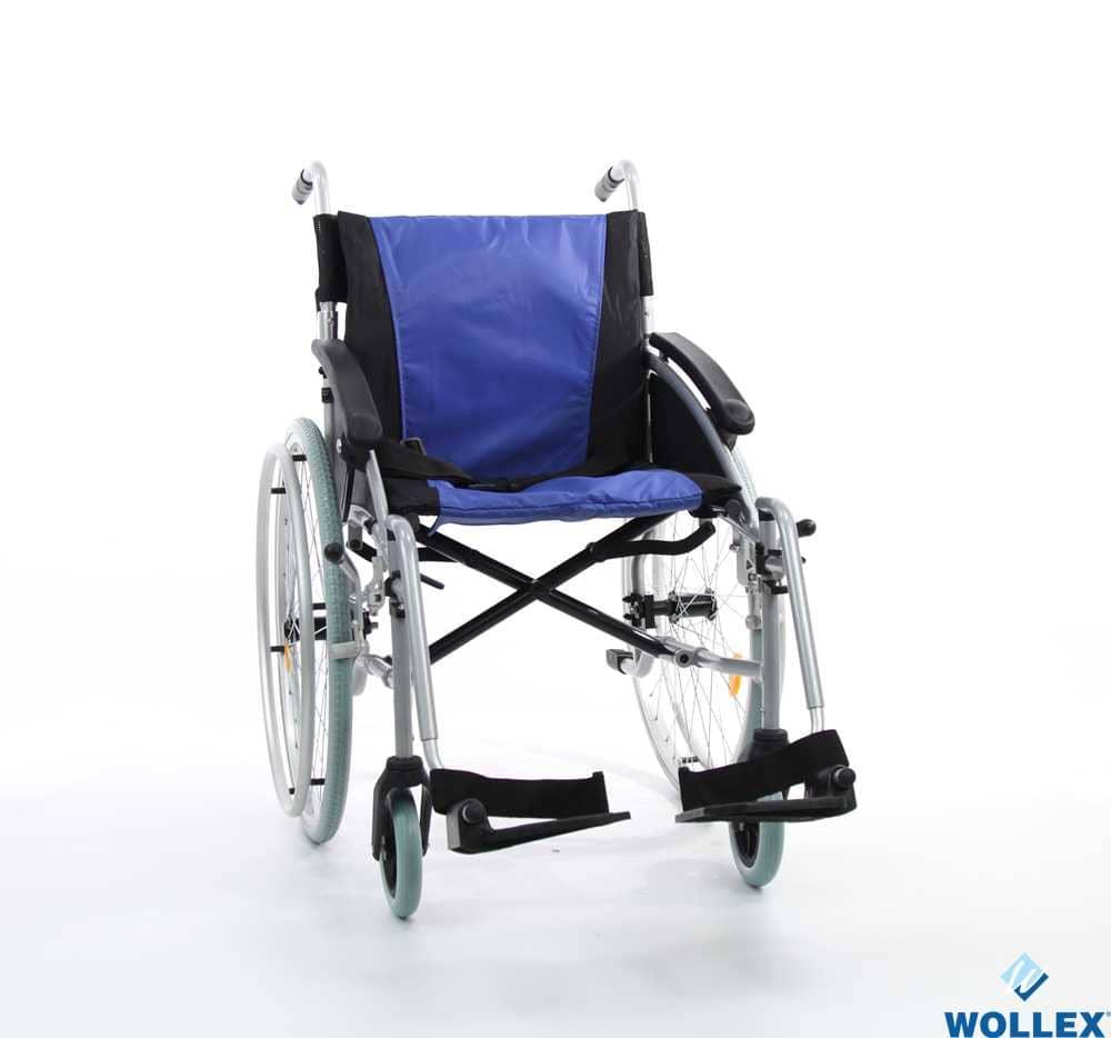 WOLLEX WG-M314 Tekerlekli Sandalye/Aluminyum