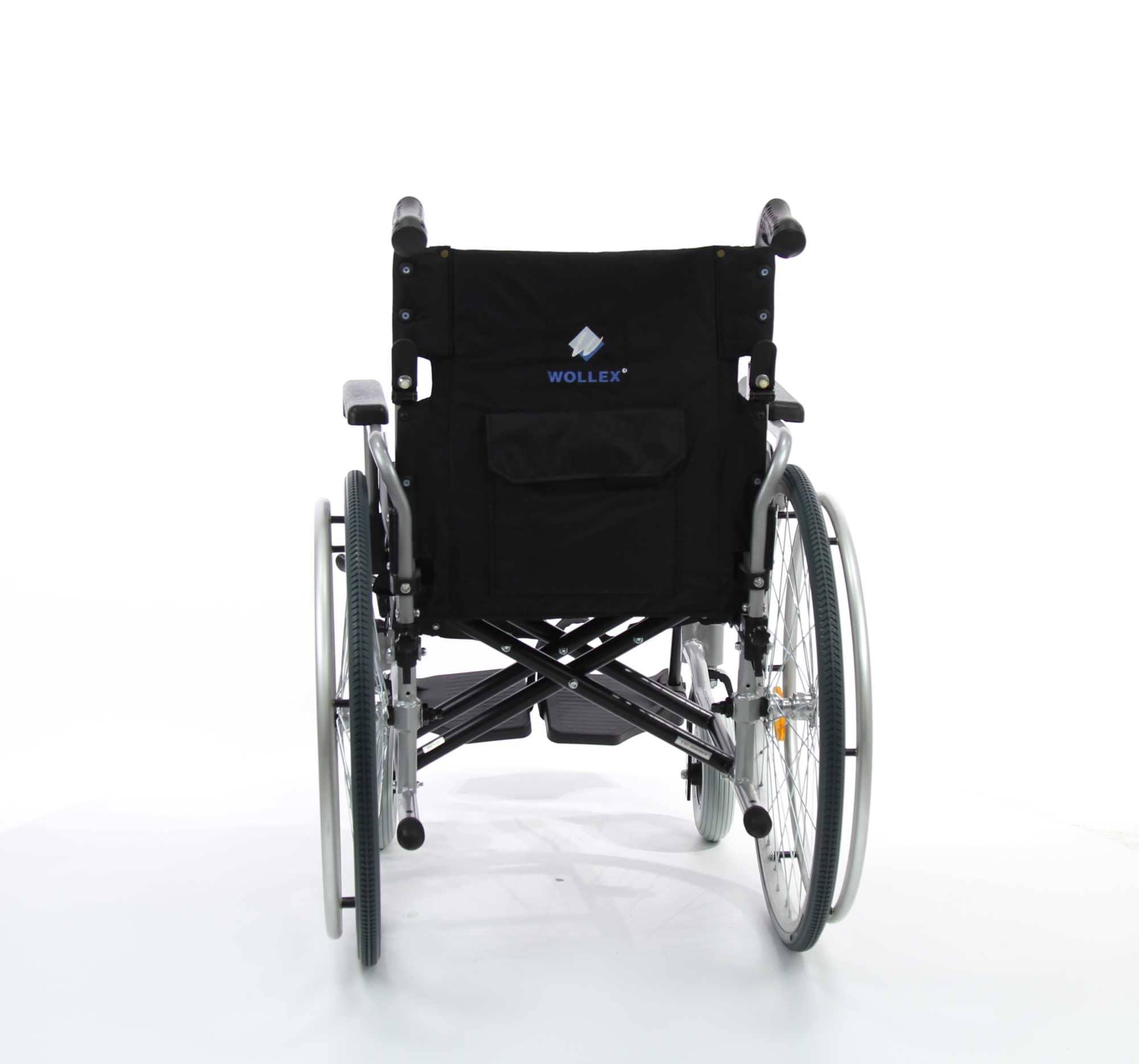WOLLEX W466 Aluminyum Manuel Tekerlekli Sandalye